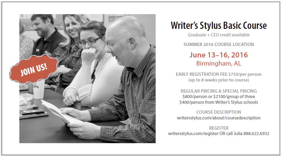 Writer's Stylus Summer 2016